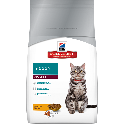 Hill's Science Diet Feline Indoor Cat Food 4KG