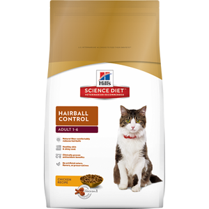 Hill's Science Diet Feline Hairball Adult Food 10KG