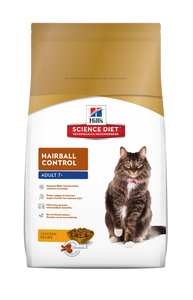 Hill's Science Diet Mature Feline Hairball Food 2KG