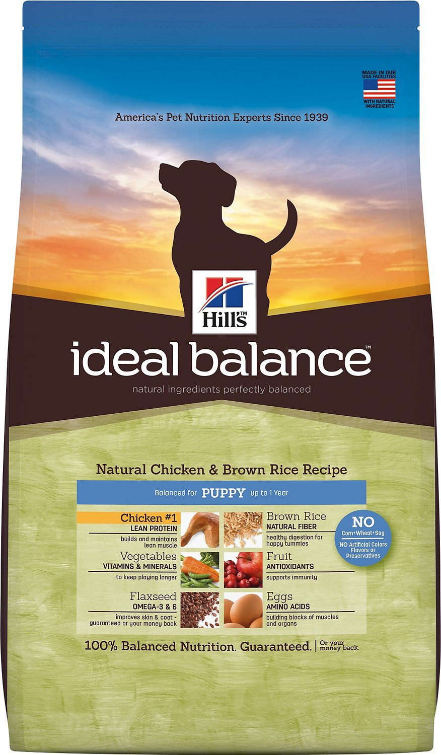 Hill's Science Diet Ideal Balance Puppy Dry Dog Food 4LB