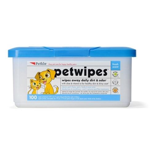 Petkin Petwipes 100CT