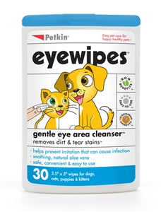Petkin Eye Wipes (30ct)
