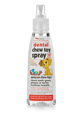 Petkin Dental Chew Toy Spray 4oz
