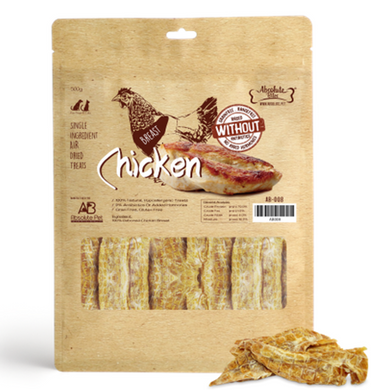 Absolute Bites Air Dried Chicken Breast 500g for Dogs and Cats