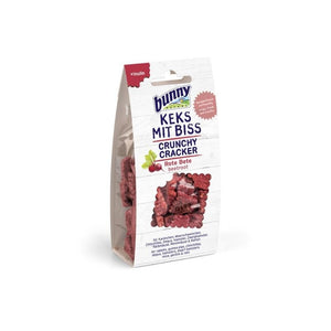 Bunny Nature Crunchy Cracker Beetroot Treats for Rabbits 50G
