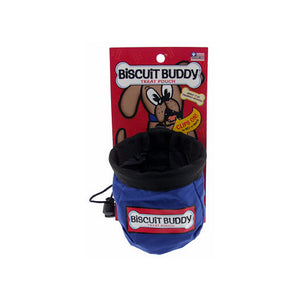 Biscuit Buddy Treat Pouch (Blue)