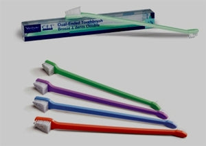 C.E.T. Virbac Pet Dual End Toothbrush (Color Varies)
