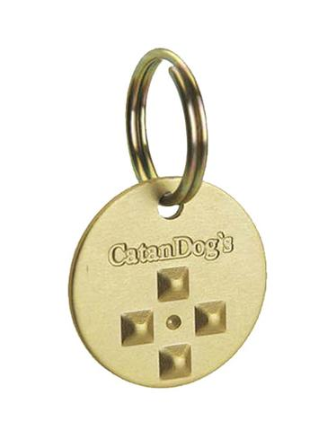 CatanDog's Anti Fleas & Ticks Metal Tag For Pets