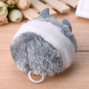 Cat Toy Rat Pulling chain - Grey