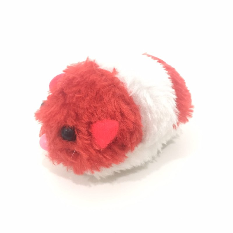 Cat Toy Rat Pulling chain - Red