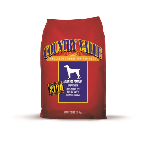 Country Value Adult Dog Formula Dry Dog Food 50LBS