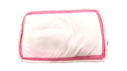 Plain Pink Dog Bed