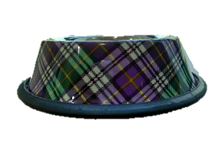 Purple-checkered Anti-Skid Bowl (16oz/32oz)