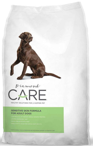 Diamond Care Sensitive Skin Formula For Adult Dry Dog Food 8LBS