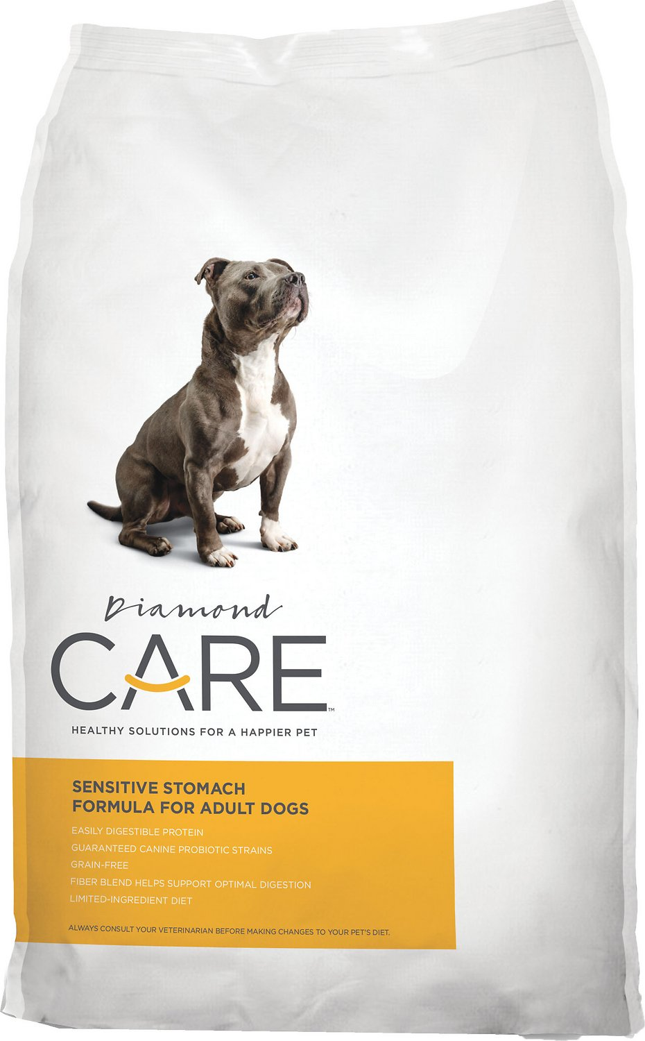 Diamond Care Sensitive Stomach Formula For Adult Dry Dog Food 8LBS