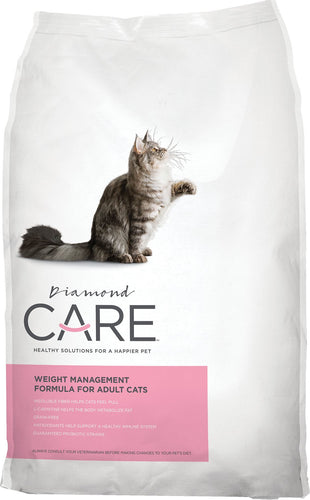 Diamond Care Weight Management Formula For Adult Dry Cat Food 6LBS