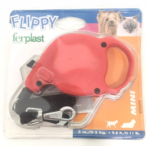 Ferplast Flippy Mini Rosso Retractable Lead