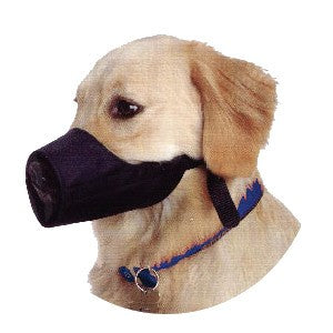 Mikki Nylon Dog Muzzle - 4XL