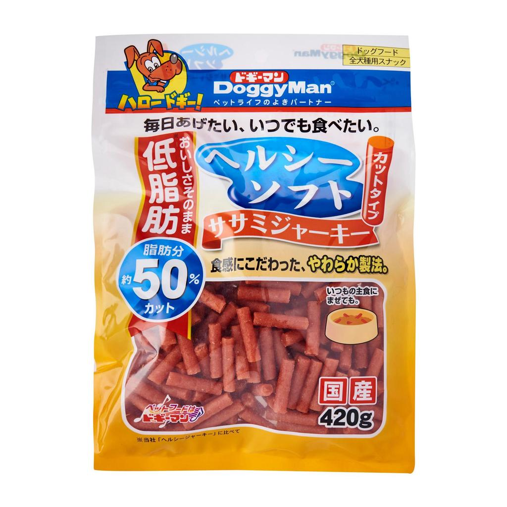 DoggyMan Healthy Soft Sasami Jerky Cut for Dogs (420g)