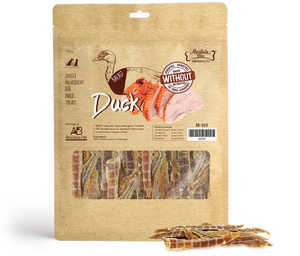 Value Pack 2 x Absolute Bites Air Dried Duck Breast 450g for Dogs and Cats