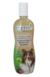 Espree Classic Care Aloe Oatbath Medicated Dog Shampoo 355 ml