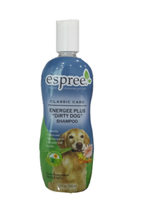 "3 x Espree Classic Care Energee Plus ""Dirty Dog"" Shampoo 355 ml"