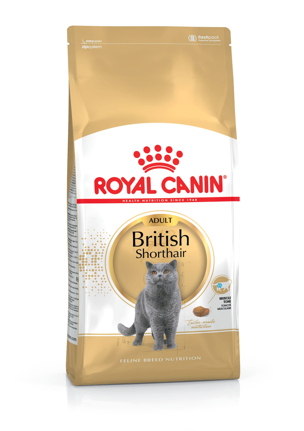 Royal Canin British Shorthair Adult Dry Cat Food 4KG
