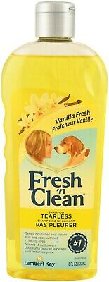3 x Fresh'n Clean Tearless Dog Shampoo Vanilla Fresh