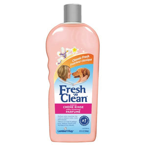 Fresh'n Clean Creme Rinse Dog Shampoo