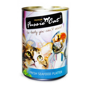 Fussie Cat Fresh Seafood Platter Canned Cat Wet Food