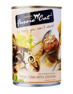 Fussie Cat Fresh Tuna & Chicken Canned Cat Wet Food