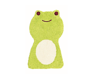 Green Frog Floor Mat