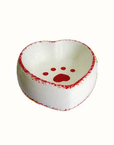 Heart-shaped Ceramic Bowl (Small/Big)