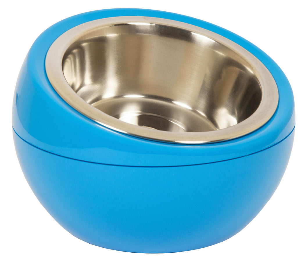 The Dome Bowl - Blue (250ml) for dogs and cats