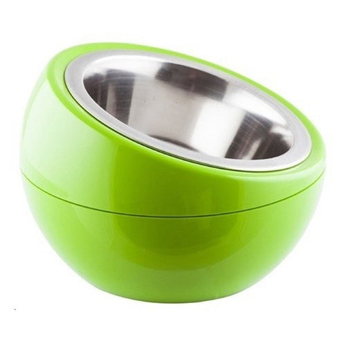 The Dome Bowl - Green (250ml) for dogs and cats