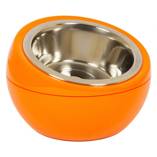 The Dome Bowl - Orange (250ml) for dogs and cats