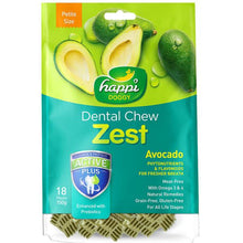 Happi Doggy Dental Chew Zest Avocado (150g)