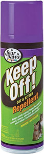 2 x Four Paws Indoor or Outdoor Repellent for Cat & Kitten 6oz