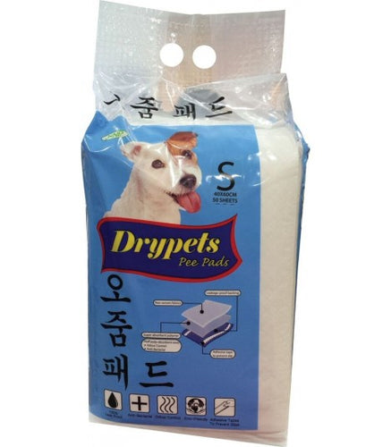 JANP Drypet Pee Pads - Small (50 Sheets)