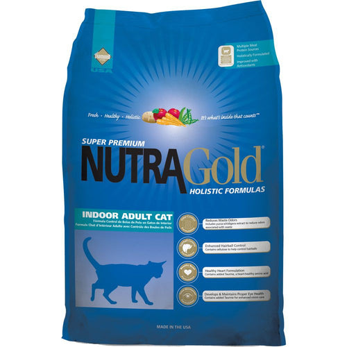 NutraGold Holistic Indoor Adult Dry Cat Food 3KG