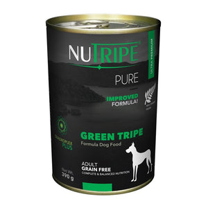 Nutripe Pure Green Tripe Canned Dog Food (12x390G)