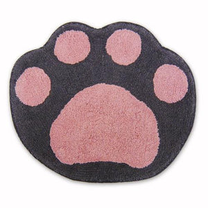 Paw Floor Mat (Grey)
