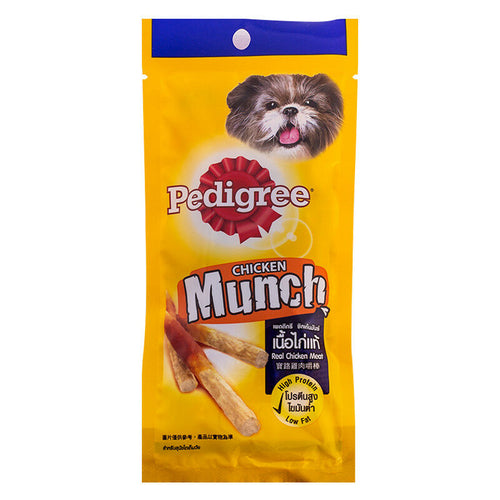 3 Packs x Pedigree Chicken Munch Dog Treat