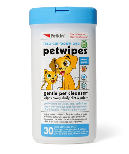Petkin Petwipes For Pet (30 pcs)