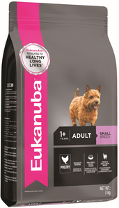 Eukanuba Adult Small Breed Chicken Dry Dog Food (1KG/3KG/9KG/15KG)