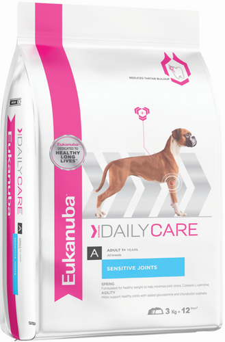 Eukanuba Adult Daily Care Sensitive Joints Dry Dog Food 12.5KG