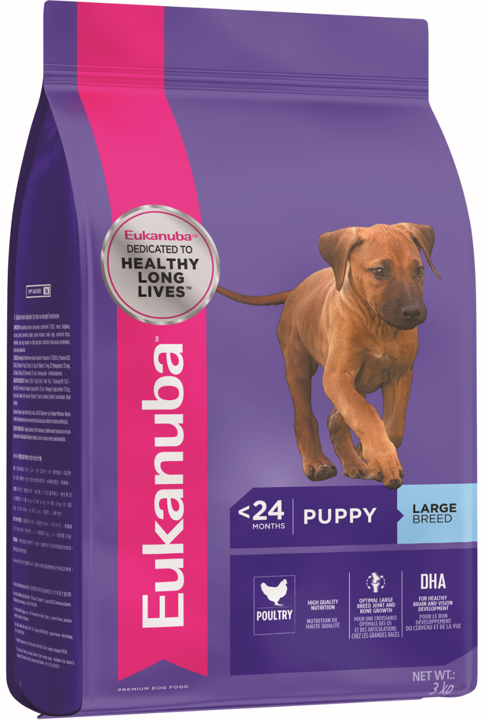 Eukanuba Puppy Large Breed Chicken Dry Dog Food (3KG/9KG/15KG)