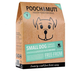 Pooch & Mutt Small Dog Complete Grain Free Superfood 1kg