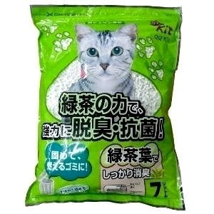 Petware QQ Kit Paper Cat Litter - Green Tea 7L