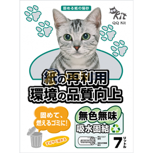 Petware QQ Kit Paper Cat Litter - Odour Control 7L